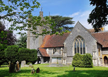 Free An English Village Church And Tower Stock Photos - 20257773