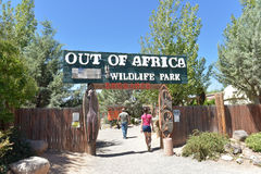 An Entrance To Out Of Africa Wildlife Park Royalty Free Stock Photography