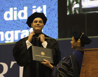 Free An Honorary Doctoral Degree Bestowed At NAU Stock Photography - 71577592