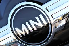 Free An Image Of A Mini Cooper Logo - Hameln/Germany - 07/18/2017 Royalty Free Stock Image - 106838966