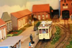 Free An Interesting Model Train Exposition In Luxembourg Royalty Free Stock Image - 87805206