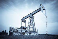 An Oil Pump Jack Royalty Free Stock Image