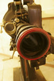 An Old 35mm Film Projector Stock Photo