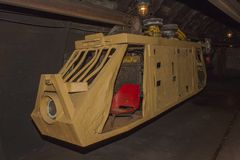 Free An Old, Abandoned Coal Mine And Mine Train. Coal Mining In The Underground Mine. Royalty Free Stock Photos - 58484868