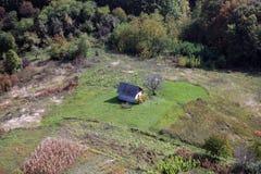 Free An Old Farmhouse On A Secluded Location In Vukomericke Gorice, Croatia Stock Photo - 137321050
