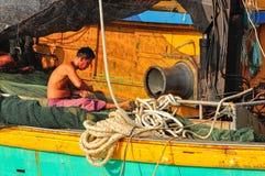 An Old Fishermen Stock Photos