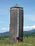 An Old Silo Royalty Free Stock Photography