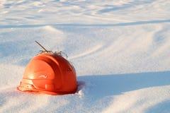 Free An Orange Broken Construction Helmet Lying Stock Images - 117159784