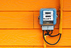 An Smart Meter In Soft Light Royalty Free Stock Photography