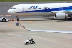 ANA Boeing 767 Royaltyfri Fotografi