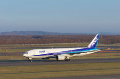 ANA Boeing 767-300 Royalty Free Stock Photo