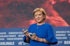 Ana Brun, vencedor do urso de prata para a melhor atriz em Berlinale 2018 Fotos de Stock Royalty Free