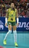 Ana Carolina Da Silva of Brazil Stock Photo