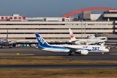 ANA Dream 787 Lizenzfreie Stockbilder