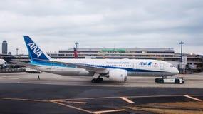 Ana Dreamliner 787 Royalty Free Stock Photos
