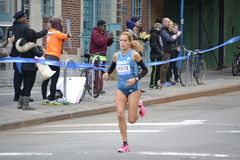 Ana Dulce Felix Elite Runner NYC Marathon Stock Photography