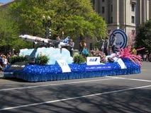 ANA Float bij de Parade Royalty-vrije Stock Afbeeldingen