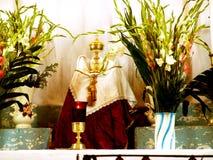 Ana Guanajuato van de Kerstman van het altaar stock afbeelding