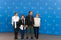 Ana Ivanova, Μαργαρίτα θληρu'ν, Marcelo Martinessi και Ana Brun Στοκ εικόνα με δικαίωμα ελεύθερης χρήσης