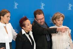 Ana Ivanova, Μαργαρίτα θληρu'ν, Marcelo Martinessi και Ana Brun Στοκ εικόνες με δικαίωμα ελεύθερης χρήσης