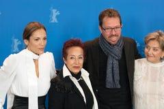 Ana Ivanova, Μαργαρίτα θληρu'ν, Marcelo Martinessi και Ana Brun Στοκ Εικόνα