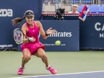 Ana Ivanovic, επαγγελματικός τενίστας στοκ φωτογραφίες