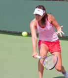 Ana IVANOVIC at the 2009 BNP Paribas Open Royalty Free Stock Photos