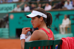 Ana Ivanovic champion of Roland Garros 2008 (127) Royalty Free Stock Images
