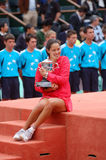 Ana Ivanovic champion of Roland Garros 2008 (177) Stock Photo