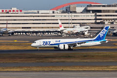 ANA JA810A Dream 787 Stock Photography