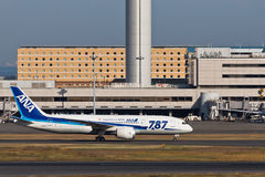 ANA JA812A Dream 787 Stock Photos