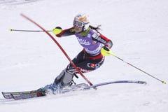 Ana Jelusic - sciatore alpino croato Immagini Stock