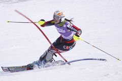 Ana Jelusic - skieur alpestre croate Images stock