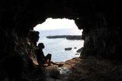Ana Kakenga Girl, isola di pasqua immagini stock libere da diritti