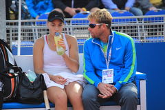 Ana Konjuh - J&T Banka Prague Open 2015 Royalty Free Stock Image