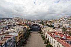 ana Las Palmas plaza santa Royaltyfria Bilder