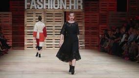 Ana Marija Ricov-modeshow stock video