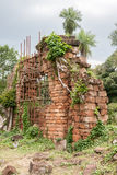 ana mission ruins santa Arkivbilder