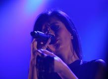 Ana Moura Concert Fotos de archivo