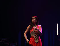 Ana Moura Concert Royalty Free Stock Photography