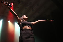 Ana Moura Concert Royalty Free Stock Photos