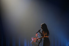 Ana Moura Concert Stock Images
