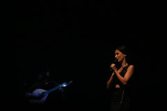 Ana Moura Concert Royalty Free Stock Photo