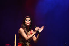 Ana Moura Concert Royalty Free Stock Images