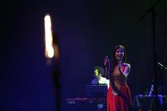 Ana Moura Concert Stock Image
