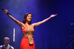 Ana Moura Concert Stock Photo