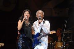 Ana Moura e Gilberto Gil Images libres de droits