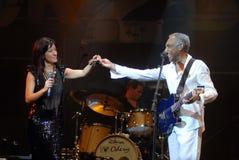 Ana Moura e Gilberto Gil Image libre de droits