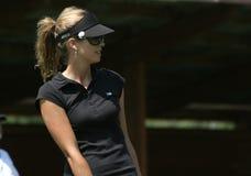 Ana Rawson, suizo del golf se abre, Losone, 2007 Fotos de archivo