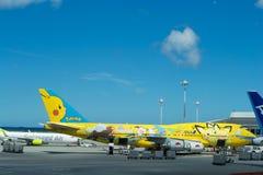 ANA samolot Obraz Stock